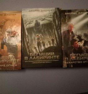 """Серия книг """"Бегущий в Лабиринте"""""""