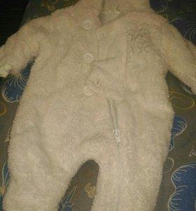 комбинезон для новорожденного, размер 56