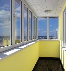 Утепление (остекление) лоджий, балконов