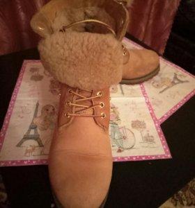 ботинки зимние Тимберленд