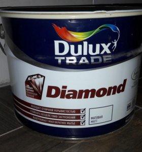 Краска Dulux белая матовая