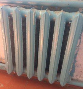 Чугунные радиаторы б/у