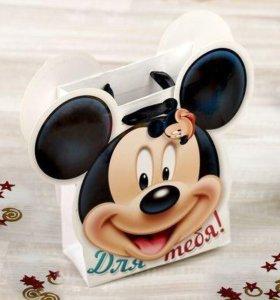 Пакет для праздника в стиле Микки маус