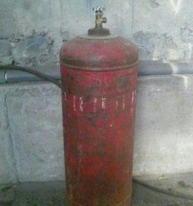 Замена вентилей бытовых газовых баллонов.