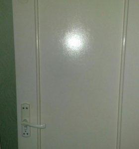 Межкомнатные двери б/у 6 шт.