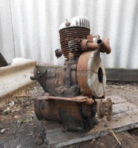 Двигатель ПД-10 (пускач)