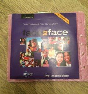 Face2face Pre-Intermediate Class CD