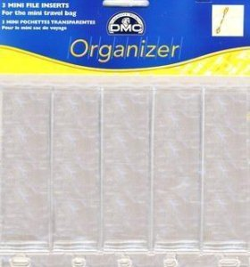 Пластиковый файл для хранения мулине.Арт.:U1335L