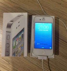 IPhone 4s white, 16 gb