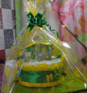 Подарки из подгузников