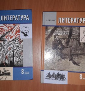 Книги по литературе 8 класс