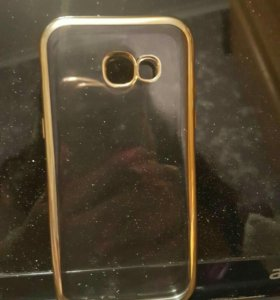 Чехол на Samsung galaxy s7 edge цвет Gold