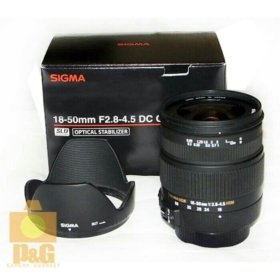 Sigma 18-50mm f/2.8-4.5 DC OS HSM Canon