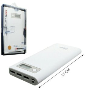 UBIK UPB07 20800 mAh powerbank LED-дисплей