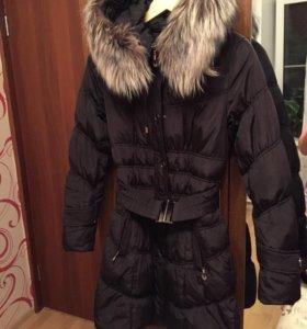Куртка -пальто женское зима