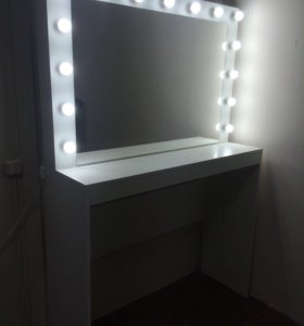 Гримёрный стол, зеркало