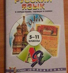 Учебные материалы по русскому языку 5-11 класс