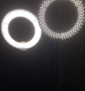 Кольцевая лампа светодиодная