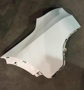 Задние боковые панели бампера белые BMW X5 e70