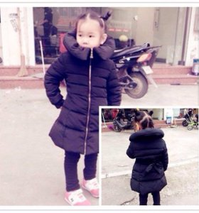 Пальто на девочку. Новое