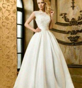 Стильное свадебное платье Малахит 2 от Анны Богдан