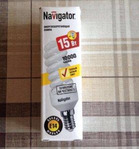 Энергосберегающая лампа Navigator. Новая