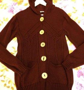 Пальто свитер
