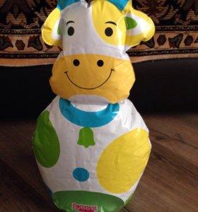 Игрушка надувная Корова-неваляшка