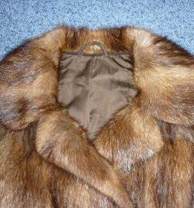 Шуба - Полушубок из ондатры. Размер 48-50.