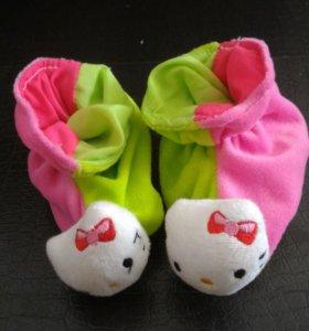 Пинетки носочки новые