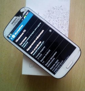 Samsung i9300 galaxy S3 White 16 gb