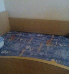 Кровать подросковая с матрасом