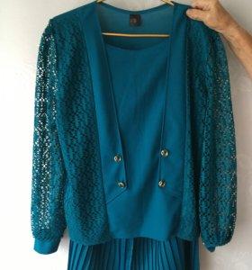 Костюм НОВЫЙ (блуза + юбка)
