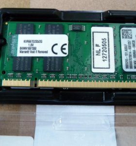 Оперативная память DDR2 / 2 Гб для ноутбука
