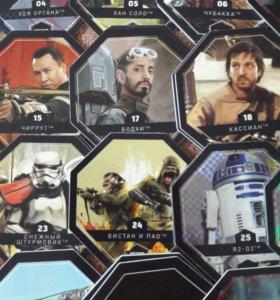 Карточки Звездные Войны (почти все)
