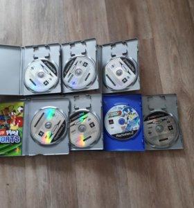 Диски с играми для PS2