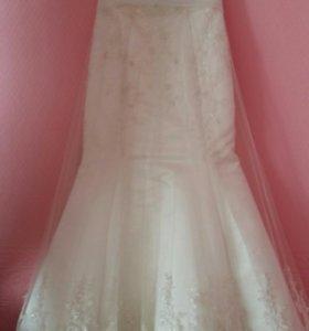 Свадебное платье ''рыбка''