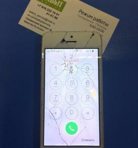Замена стекла дисплейного модуля на iPhone