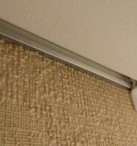 Заглушка -плинтус для натяжного потолка