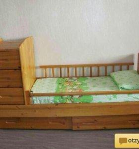 Детская кроватка ВЕЛАР М11