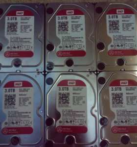 Жесткий диск 3000Гб WD RED WD30EFRX