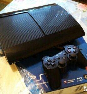Super Slim Ps3 black 500gb