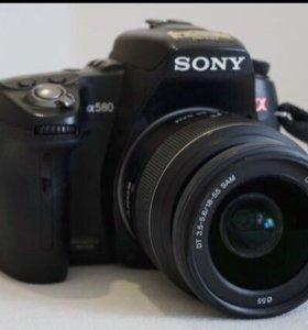 Зеркальный фотоаппарат Sony Alpha a580