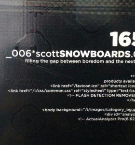 Сноуборд SCOTT FLOW