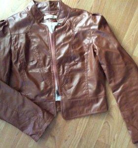 Куртка экокожа 46 р-р