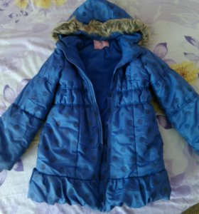 Куртка для девочки зимняя