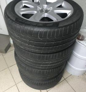 Колеса R18 на Audi A7-A6