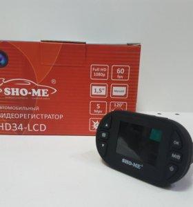 Авторегистратор Sho-me HD34-LCD