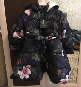 Куртка- пальто для девочки 5-8 лет