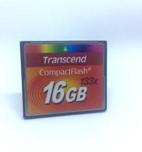 Флэш карта Transcend CP 16gb